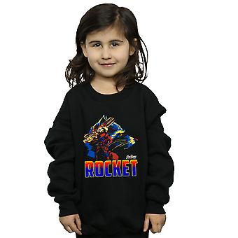 Marvel Girls Avengers Infinity War Rocket Character Sweatshirt