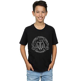 Harry Potter Boys Hufflepuff Seal T-Shirt