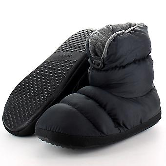 Cotswold dames Casual Comfort Camping slofje Slippers zwart