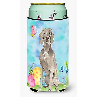 Easter Eggs Weimaraner Tall Boy Beverage Insulator Hugger