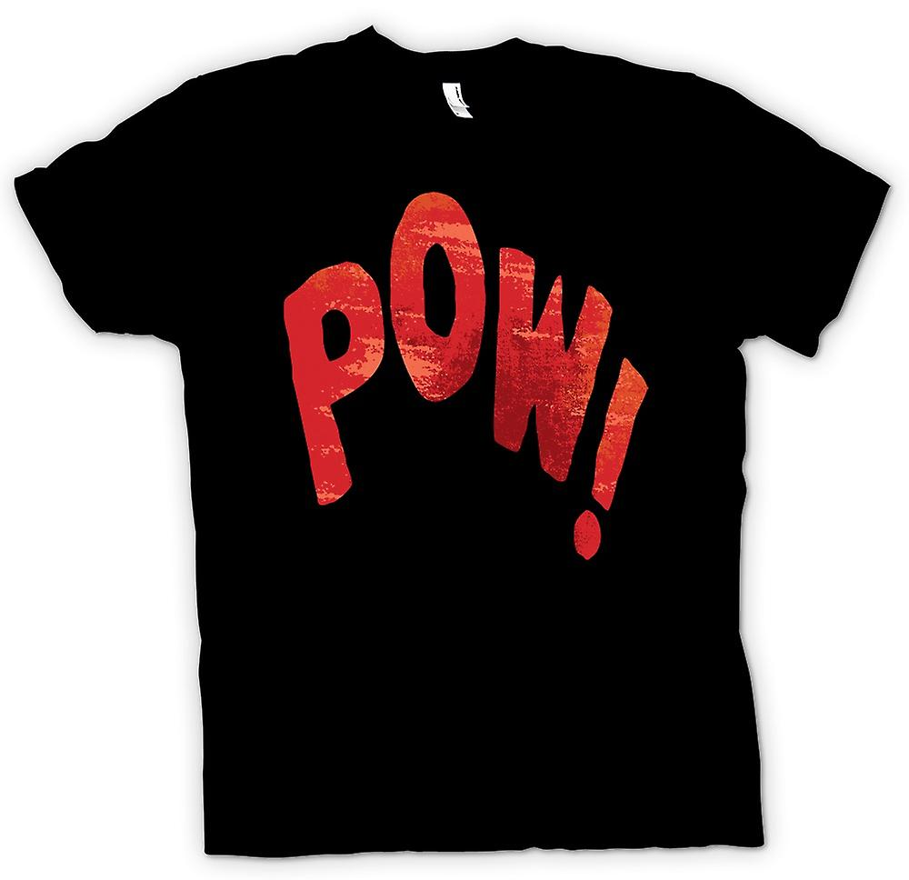 Mens T-shirt - POW Fight Noise