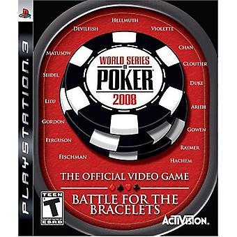 World Series of Poker 2008 slaget för armband (PS3)