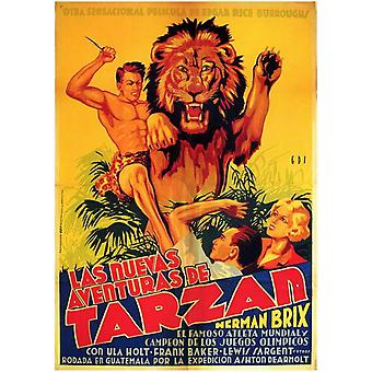 The New Adventures of Tarzan filmposter (11 x 17)