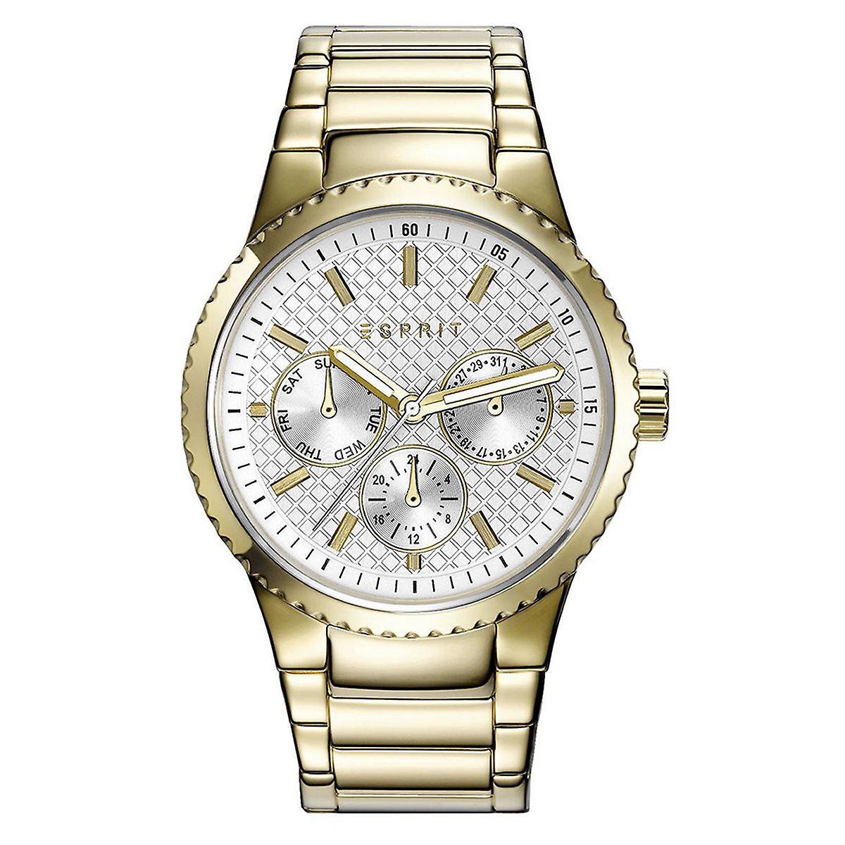 ESPRIT ladies watch wristwatch Beckie stainless steel gold ES108642002