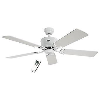 Energy-saving ceiling fan Eco Elements White with remote