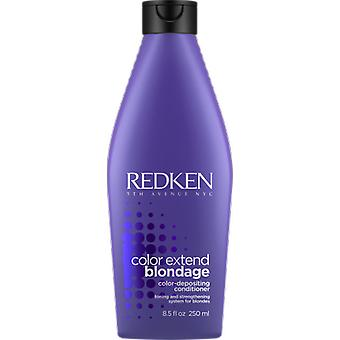Redken Blonde Hair Conditioner 250 ml (hårpleie, hår balsam)