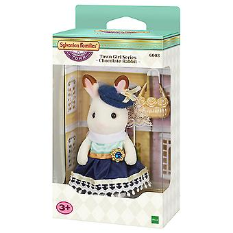 Sylvanian Families 6002 Chocolate Rabbit Town Series