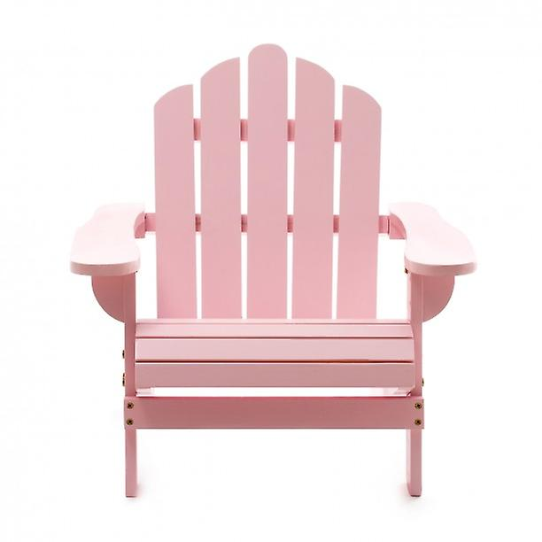 WOOD HIGH CHAIR STURDY CHAIRS MODERN WOOD CHAIR REAL CEDAR PASTEL PINK