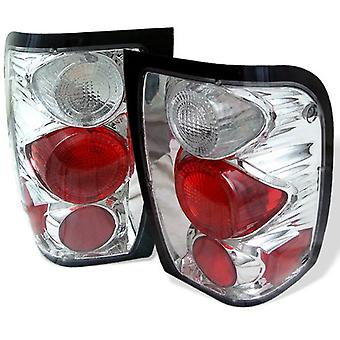 Spyder Auto 5003812 Euro Style Tail Lights Chrome/Clear