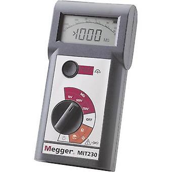 Megger MIT230 isolasjon tester 250 V, 500 V, 1000 V 1000 MΩ kalibrert produsenter standarder (ingen sertifikat)