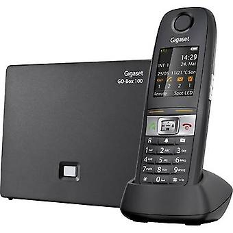 Gigaset E630A GO Cordless VoIP shockproof, waterproof, Hands-free Colour TFT/LCD Black