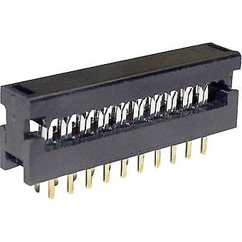 Edge connector (receptacle) LPV 25 S 34 Total number of pins 34 No. of rows 2 econ connect 1 pc(s)
