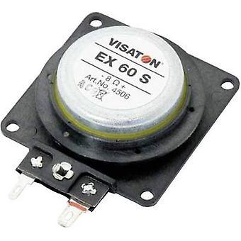 Visaton EX 60 S Exciter Lautsprecher 25 W 8 x 1 Stk.