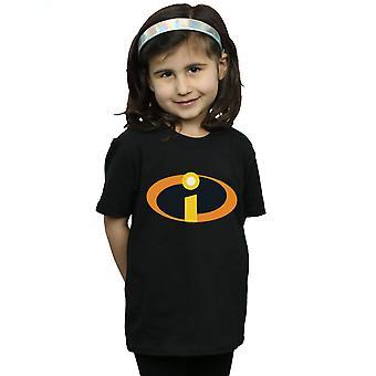Disney Mädchen das Incredibles 2 Kostüm Logo T-Shirt