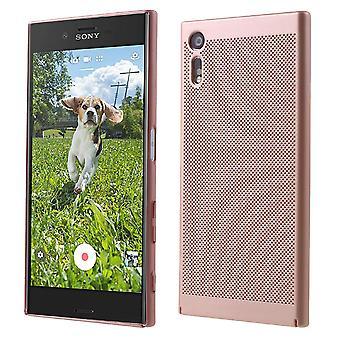 Mobiele telefoon geval voor Sony Xperia XA1 mouw zaak tas cover case roze