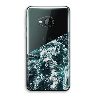 HTC U Play Transparent Case (Soft) - Ocean Wave