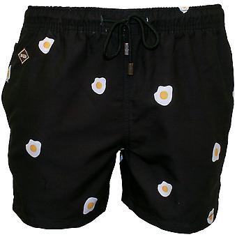 Nikben Benedict Swim Shorts, Black