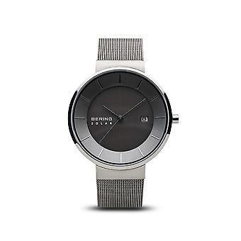 BERING unisex - solar - shiny silver - 14639-309 - wrist watch-