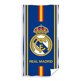 Real Madrid Handduk Badlakan 150*75cm Darkblue