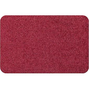 Salon lion mini doormat living mat Burgundy without solid edge
