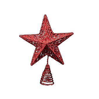 Gisela Graham Red Christmas Tree Topper