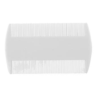 Double-sided tooth comb, plastic