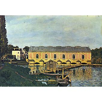 La Machine à Marly, Alfred Sisley, 45 x 64,5 cm