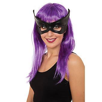 Black Flyaway (Glasses Frame) Eye Mask