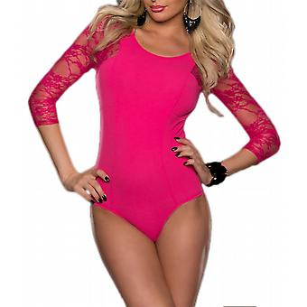 Waooh - Body with lace sleeves Saac