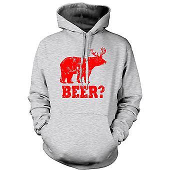 Mens Hoodie - Beer - Funny