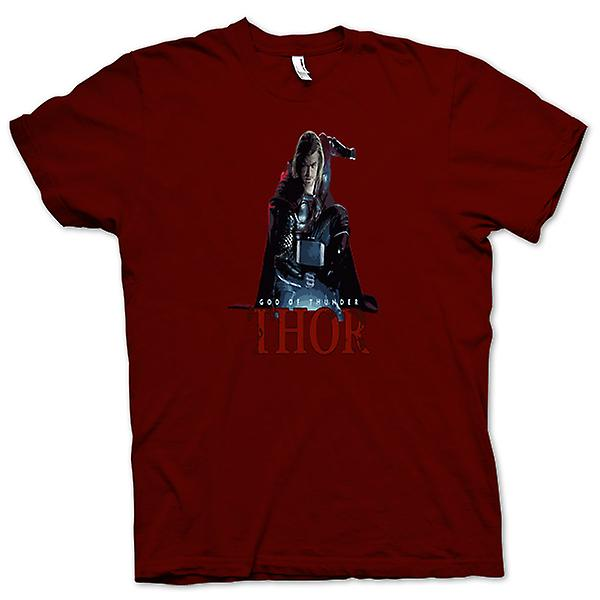 Mens T-shirt - Thor - God Of Thunder