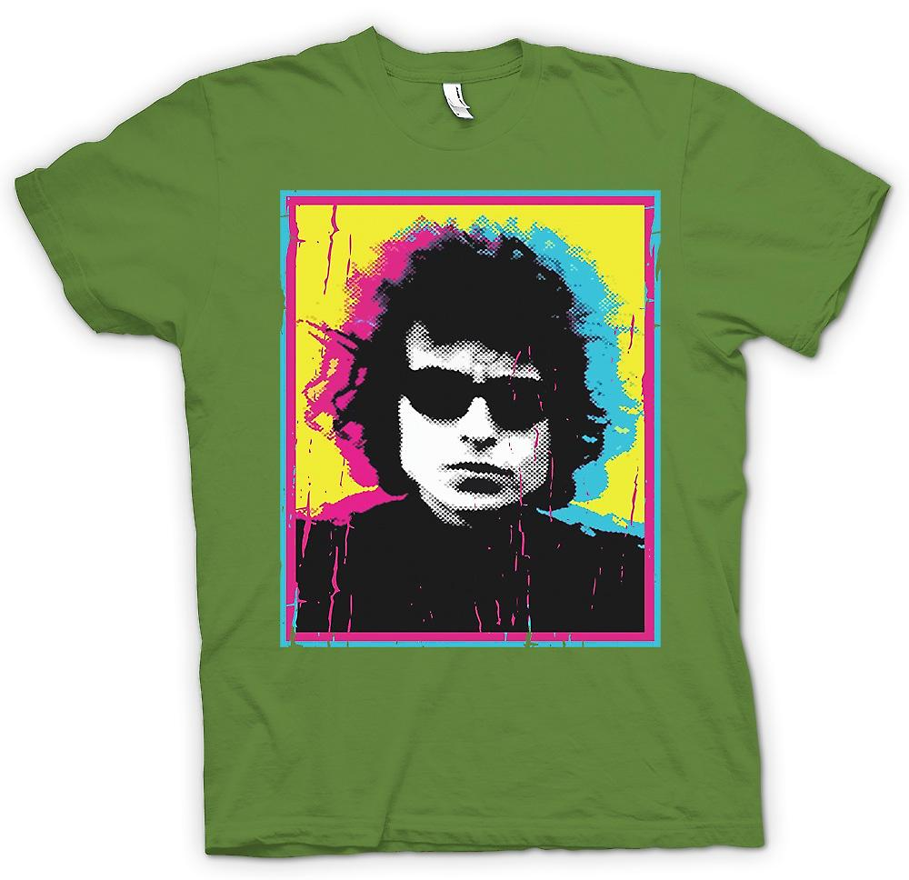 Mens T-shirt - Psychedelic Bob Dylan - Swinging 60s