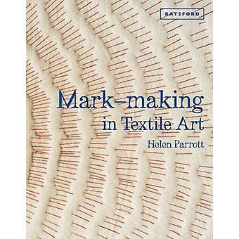 Mark-Making em arte têxtil - técnicas de mão e a máquina de costura