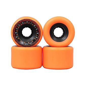 Knochen Orange Rough Riders Tank - 56mm-Skateboard-Rollen