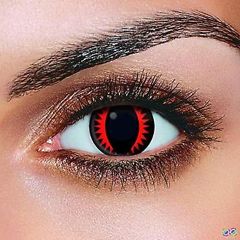 Fire Dragon Contact Lenses (Pair)
