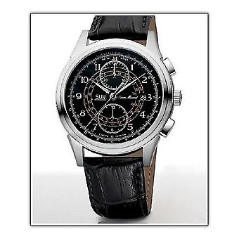 Jean Marcel hippy men's wrist watch automatic chronograph 160.266.35
