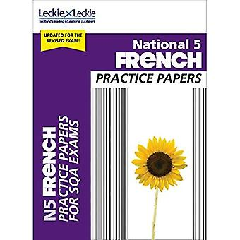 National 5 French Practice Papers for SQA Exams (Practice Papers for SQA Exams) (Practice Papers for� SQA Exams)