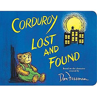 Corduroy Lost and Found [Board book]