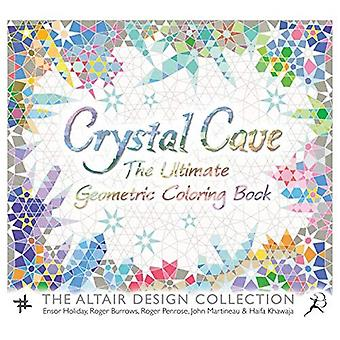 Crystal Cave: The Ultimate Geometric Coloring Book (Wooden Books)