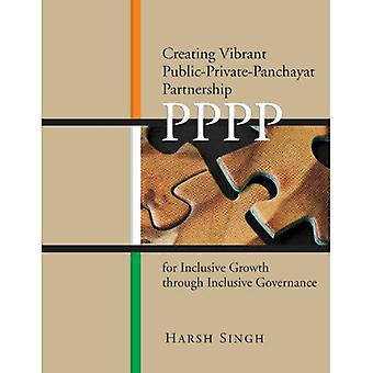 Creating Vibrant Public-Private-Panchayat Partnerships (PPPP) for Inclusive Growth Through Inclusive Governance