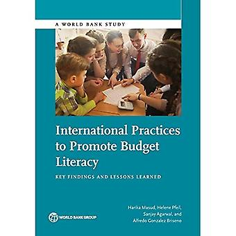 International practices to promote budget literacy: key findings and lessons learned (World Bank studies)