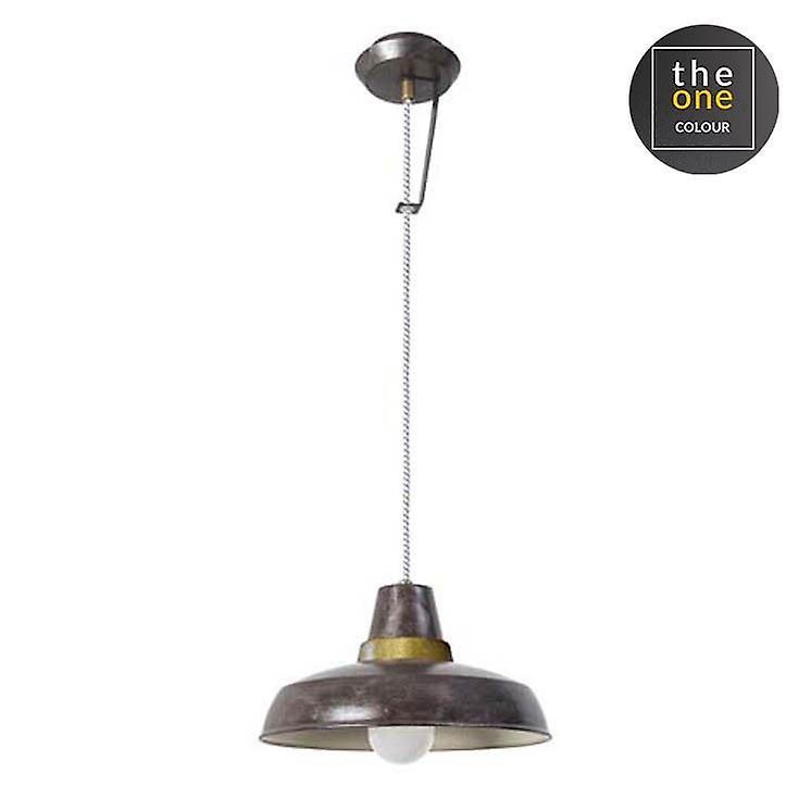 Vintage marron Single pendentif   Wall lumière - Leds-C4 00-5669-S4-CG
