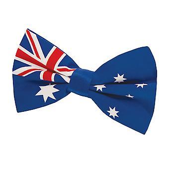 Dobell Mens australische Flagge Fliege Pre gebunden