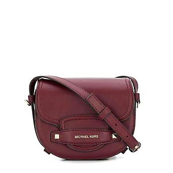 Michael Kors Women Red Crossbody Bags -- 32F8942064