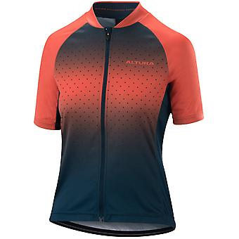 Altura Blue-Coral 2019 Airstream Womens Short Sleeved Cycling Jersey