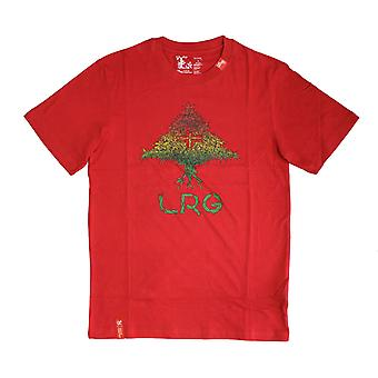 Lrg Grass Roots Four T-shirt Red