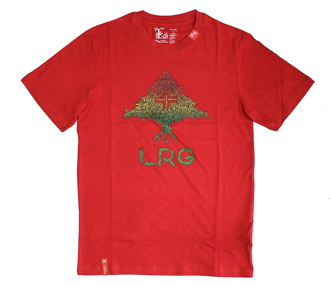 LRG Grass Roots quattro t-shirt Red