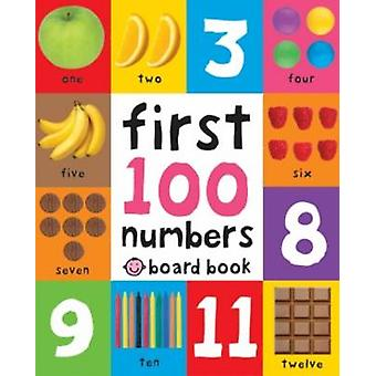 First 100 Numbers by Roger Priddy - 9781849158916 Book