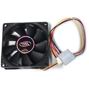Tiefkühl 3 Wire/Temperatur kontrollierte Kugel Bearing Case Fan 8cm