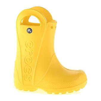 Crocs omgaan met regen Boot Kids gele 12803730 universele kids jaarrond schoenen